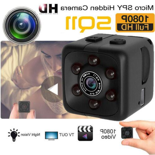 1080P HD Mini Hidden SPY Camera Night Vision Motion Detectio