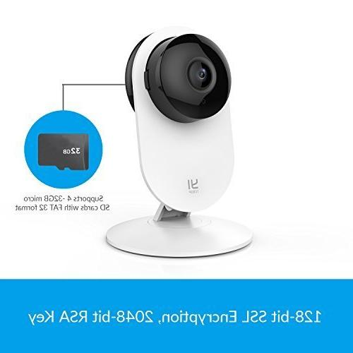 YI 1080p Home Camera Wireless System White