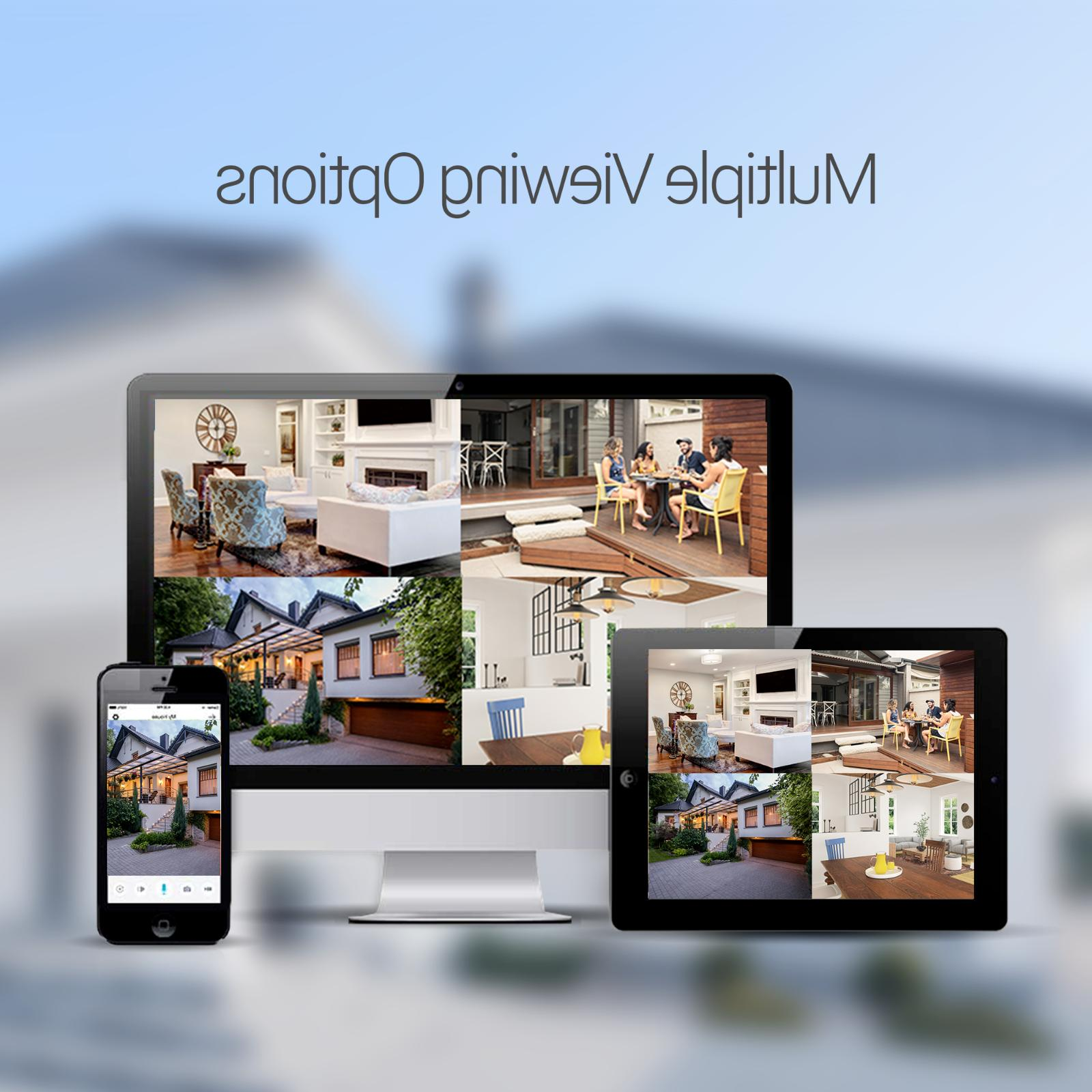 Zmodo 1080p Security IP Camera Indoor Outdoor