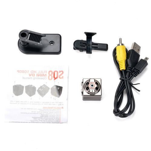 1080P Tiny invisible HD Night Motion Detection