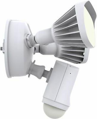 Swann - Wi-Fi Floodlight Security Camera - White
