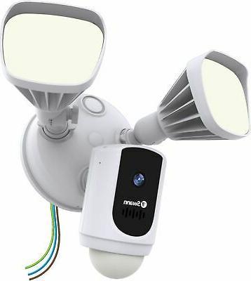 Swann - 1080p Floodlight Security White
