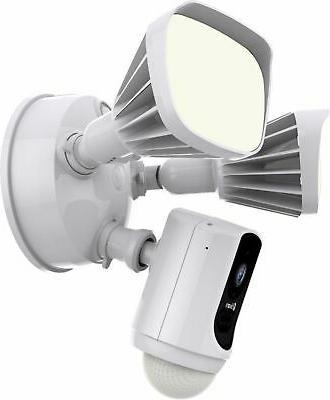 Swann Floodlight Security Camera - White