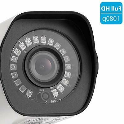 Zmodo 1080p Wifi Security Camera Outdoor Pack