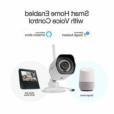 Zmodo Wifi Security Camera Wireless 2 Pack