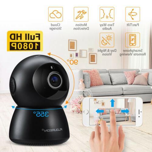 1080P Wireless Security IP Cameras Two-Way Audio Night Visio