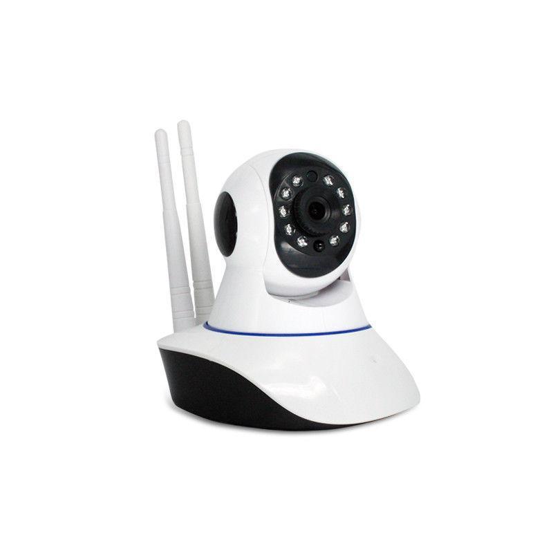 1080P Monitor Panoramic Night Alarm IP CCTV