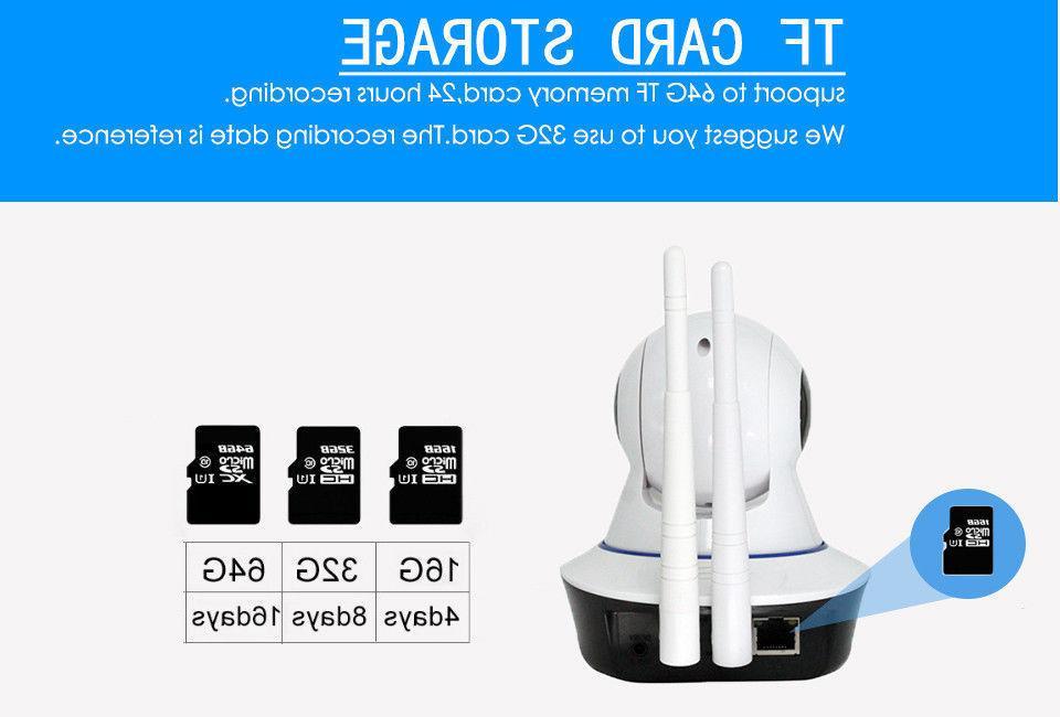 1080P Wireless Baby,Pet Monitor Alarm