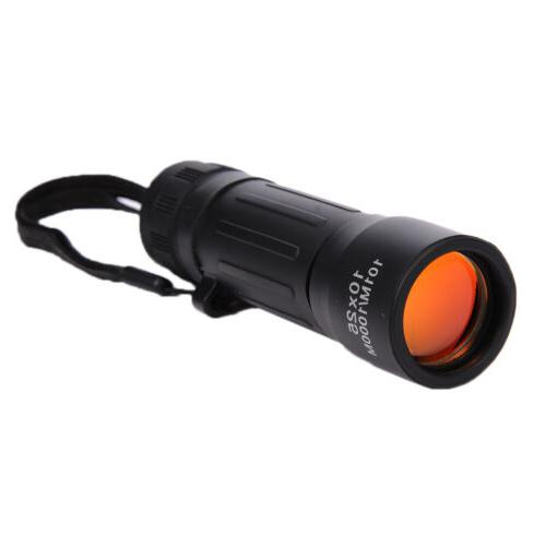 10x25 night vision zoomable monocular telescope scope