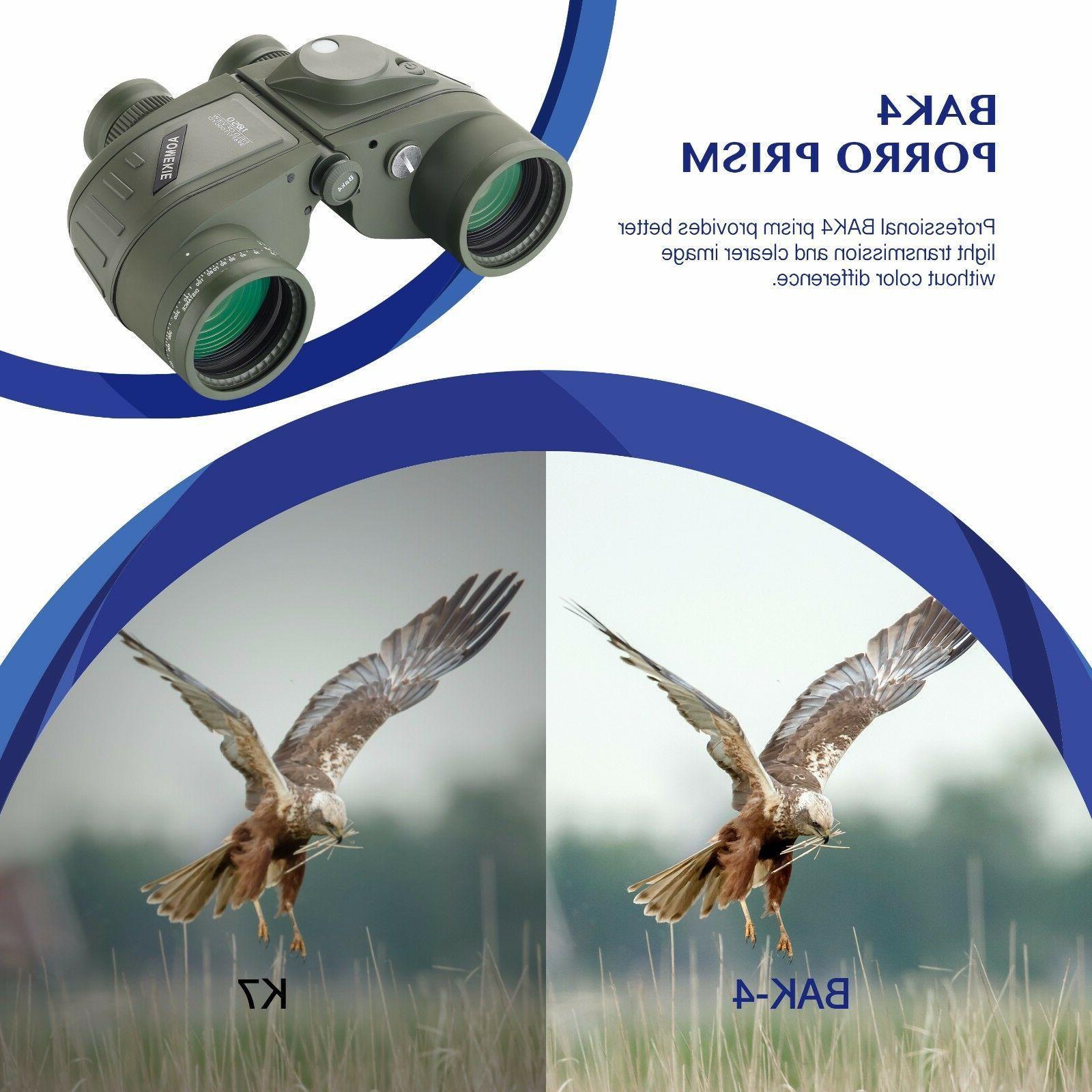 10X50 Vision Waterproof BAK4