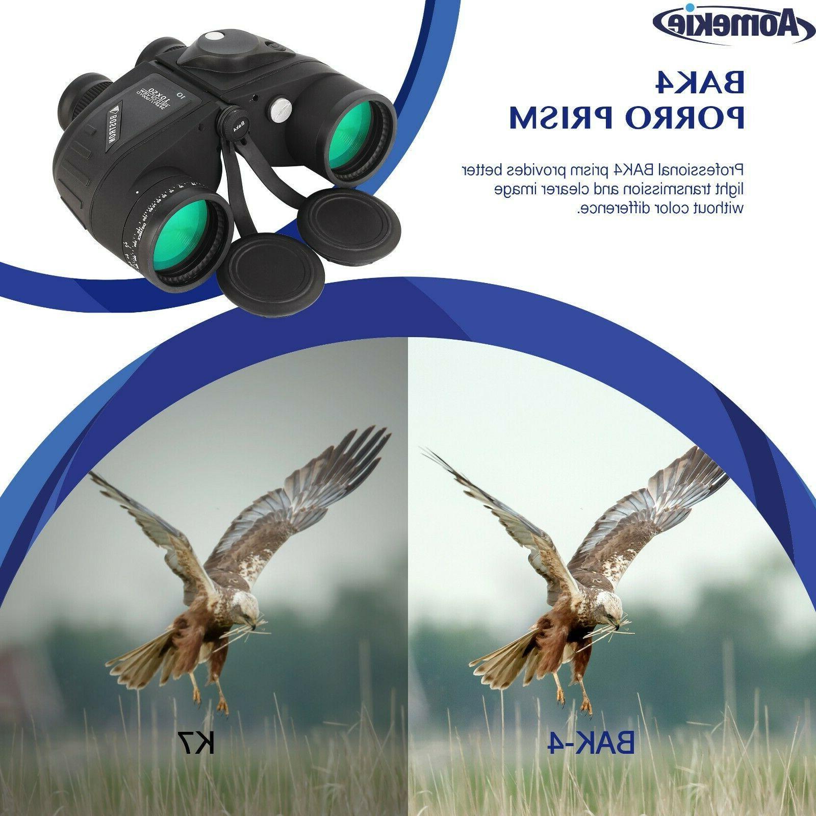 10X50 Low Rangefinder Hunting