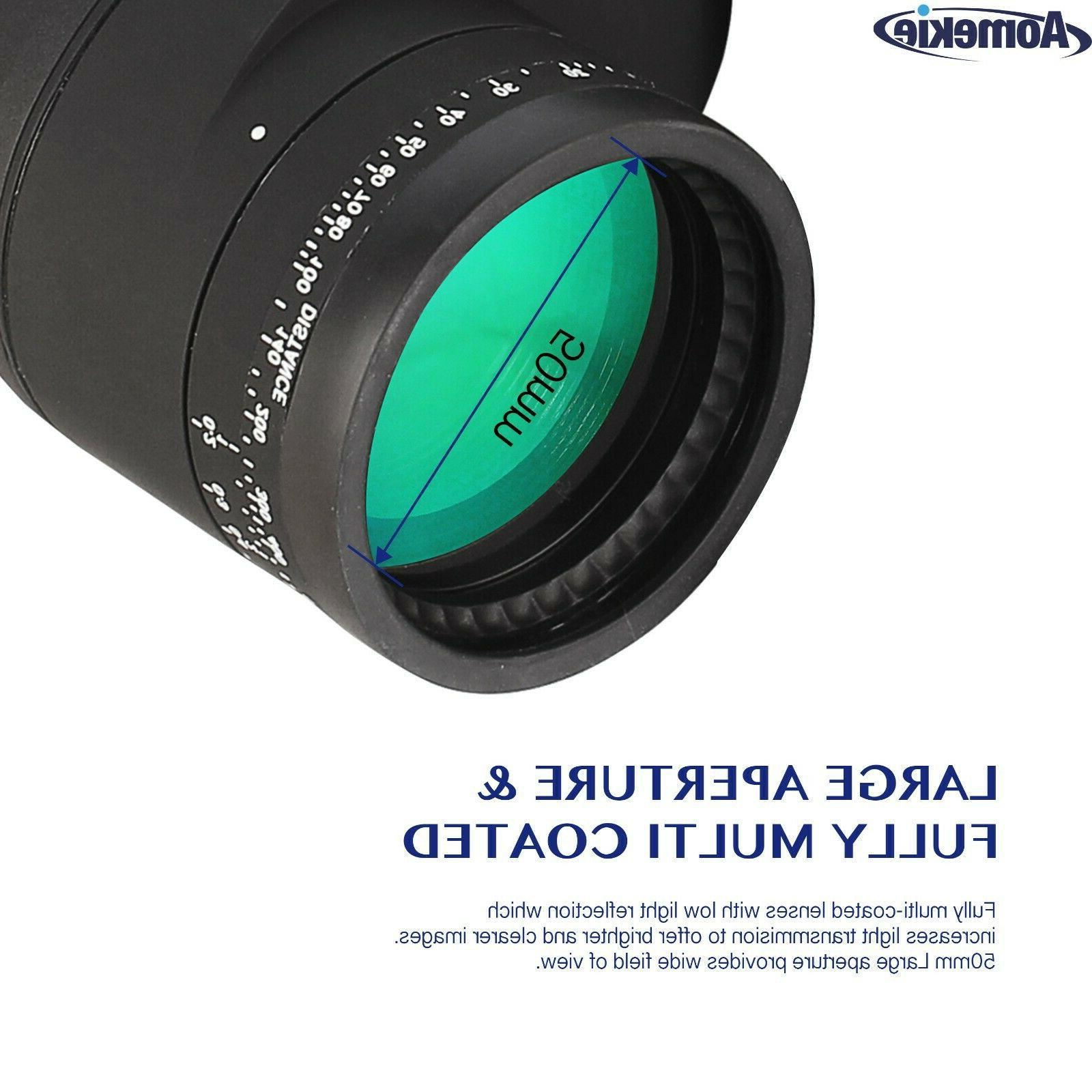 10X50 Light Vision Binoculars with Rangefinder Compass for Hunting