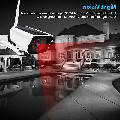 Outdoor Camera Wifi Security Night Vision Waterproof
