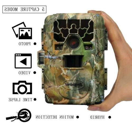 12mp 1080p waterproof infrar night vision game
