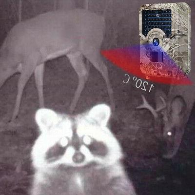 12MP Trap Night Vision 49pcs LEDs Video Wild Trail Hunting Camera