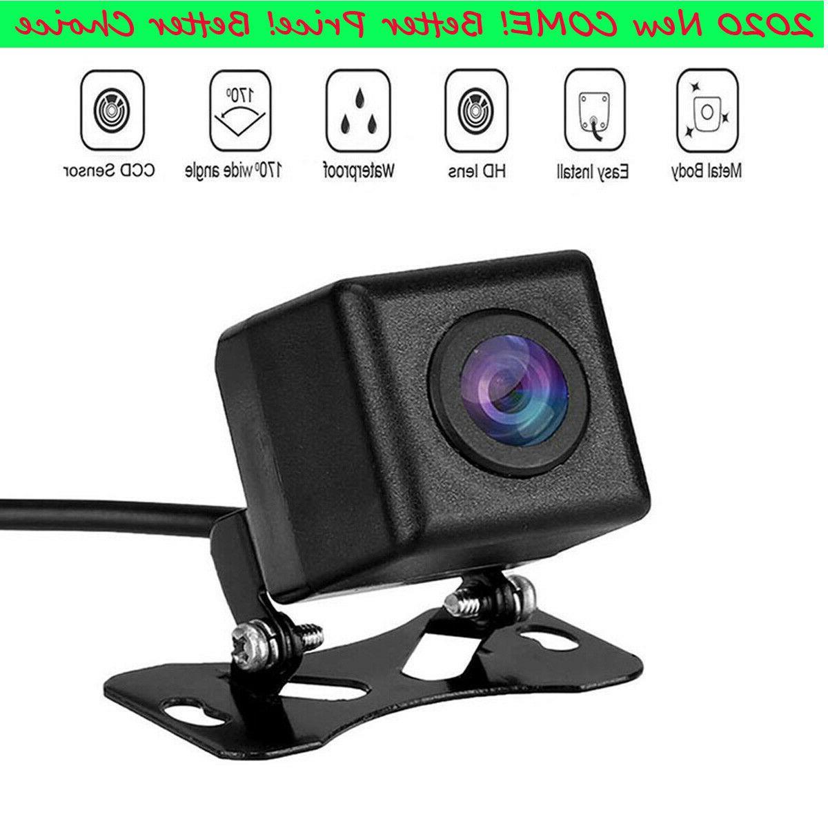12V Vision Waterproof Car Rear Reverse Parking Camera 170°