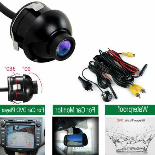 12V Universal Mini Night Vision 360° Car Rear View Backup Camera