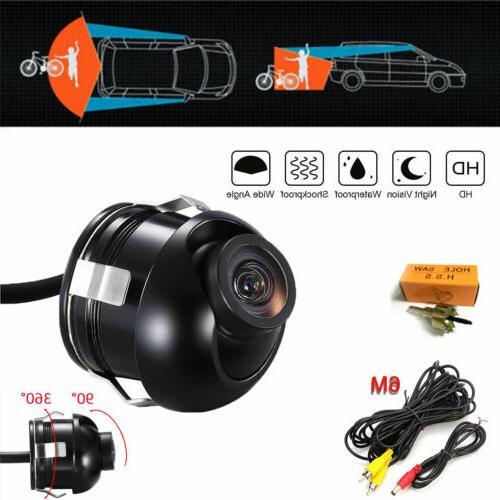 12V Universal Vision 360° Car Rear Reversing Camera