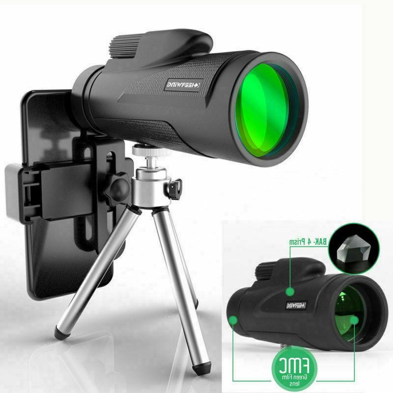 12X50 Day Night Vision HD Optical Monocular Hunting Camping