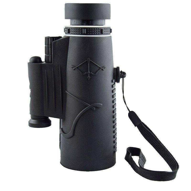 12X50 HD Night Vision Monocular Laser Compass Flashlight US