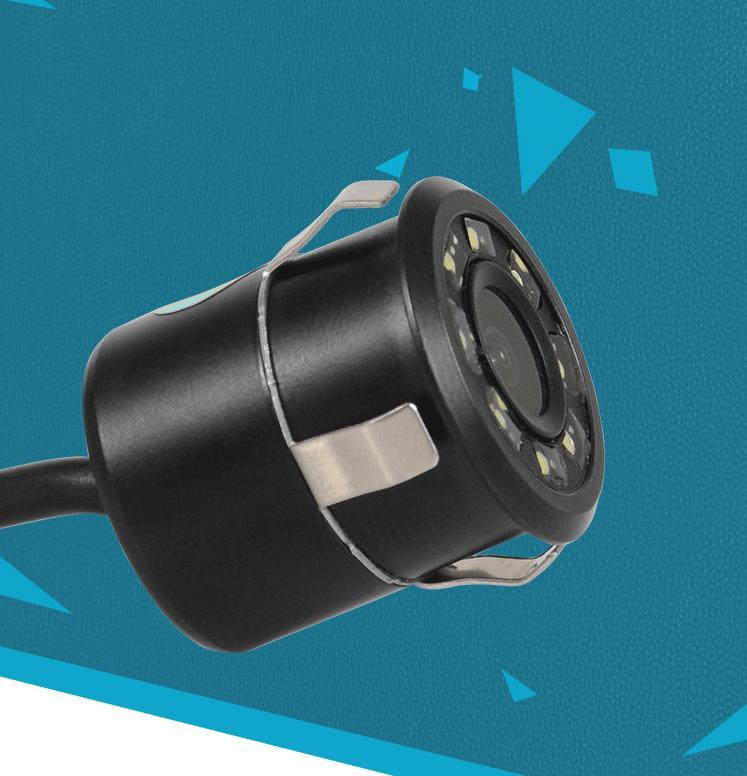 170° CMOS Car View Reverse 8 LED Waterproof