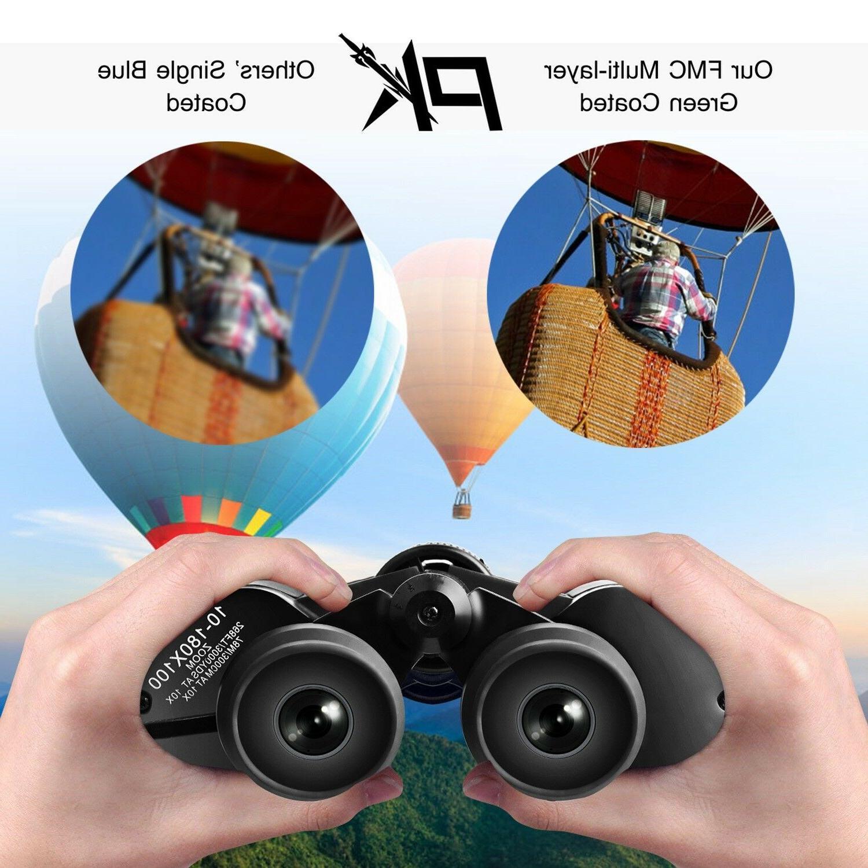 8-24 Binoculars Low Vision Hunting Hiking Birding