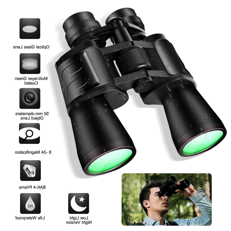 180x100 Military Zoom Powerful Binoculars Day/Low Night Opti