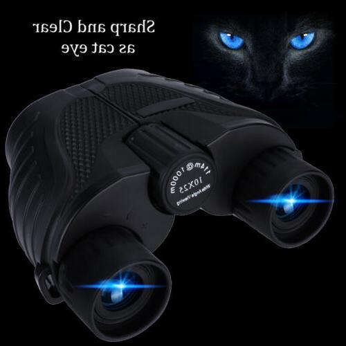 10X25 Binoculars Night Vision BAK4 Prism High Power Optics H