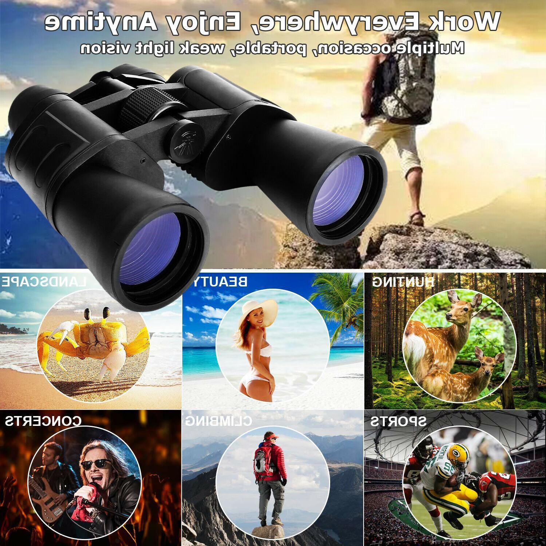 180x100 Powerful Binoculars Camping