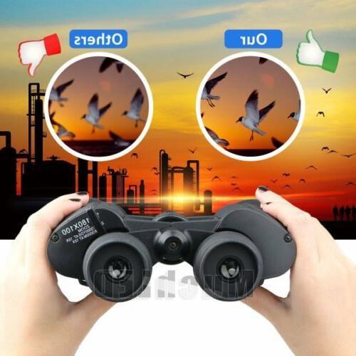 Outdoor Day Binoculars + Case