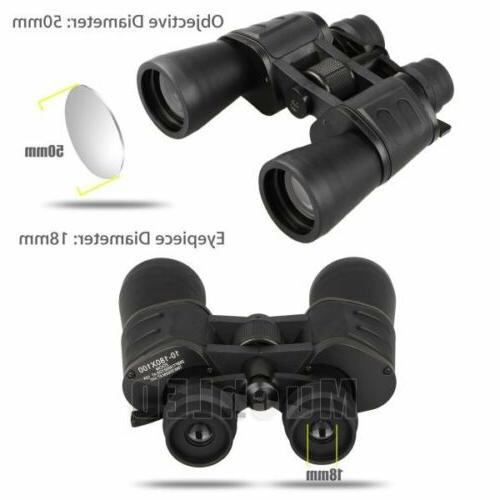 Outdoor Day Night Binoculars Hunt + Case
