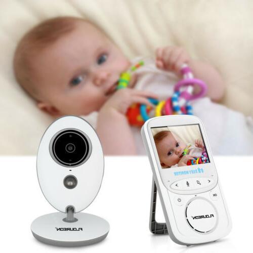 """2.4"""" Digital Baby Monitor Video 2 Way Vision"""