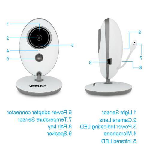 """2.4"""" Monitor Audio Camera 2 Way Vision"""