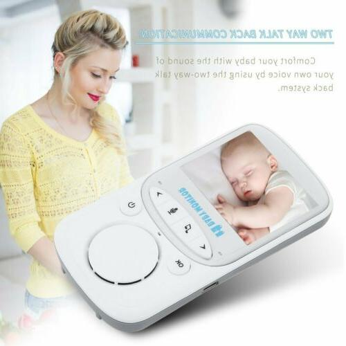 2.4inch Baby Monitor Video Baby Infant Monitor with Night Vi