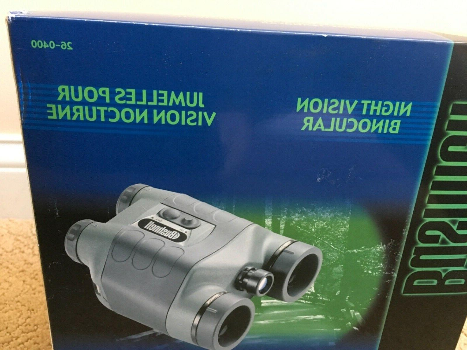 Bushnell 2.5x42 Night Vision Binocular w'Built Brand New! 26-0400
