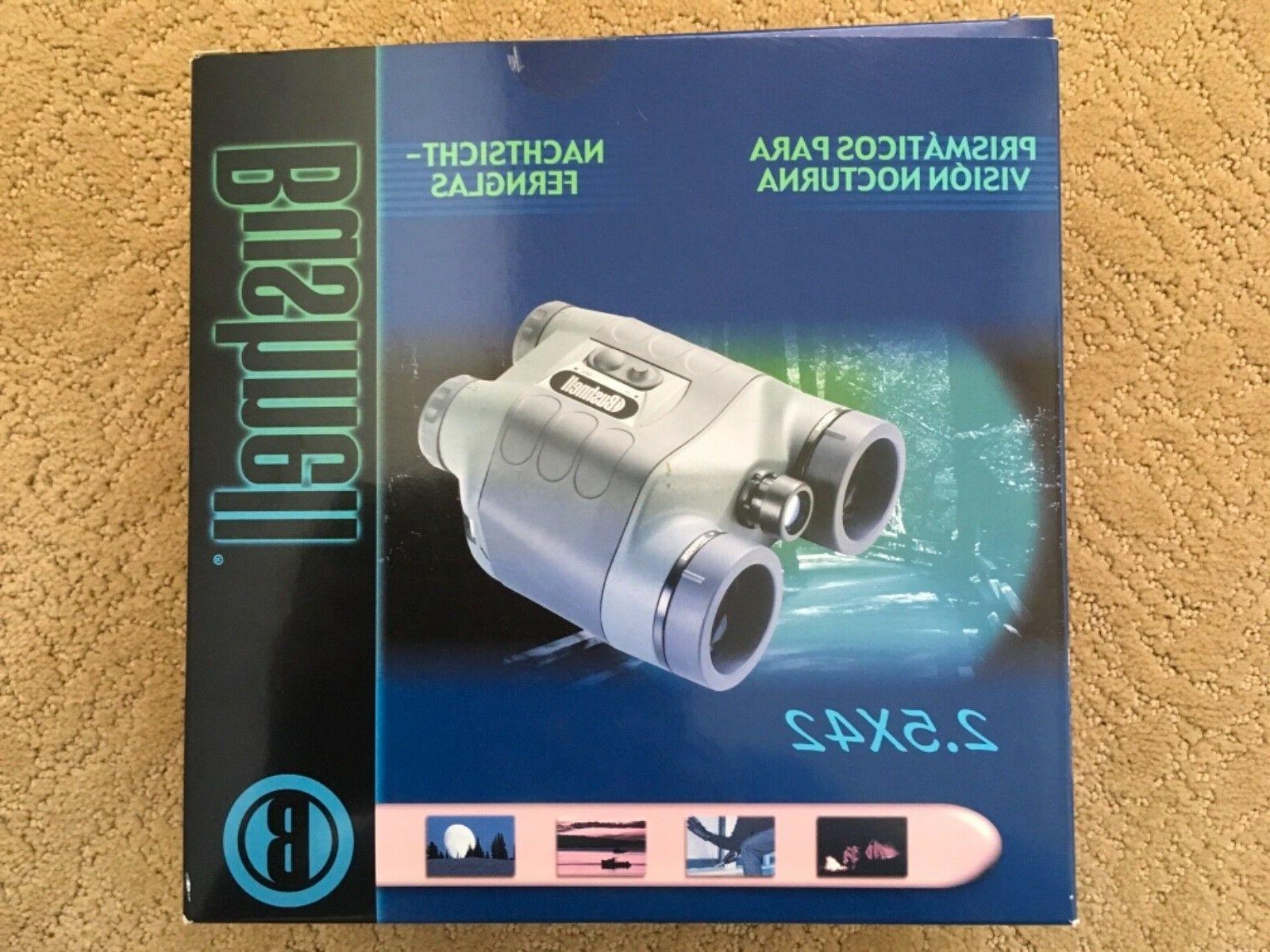 2 5x42 night vision binocular wbuilt in