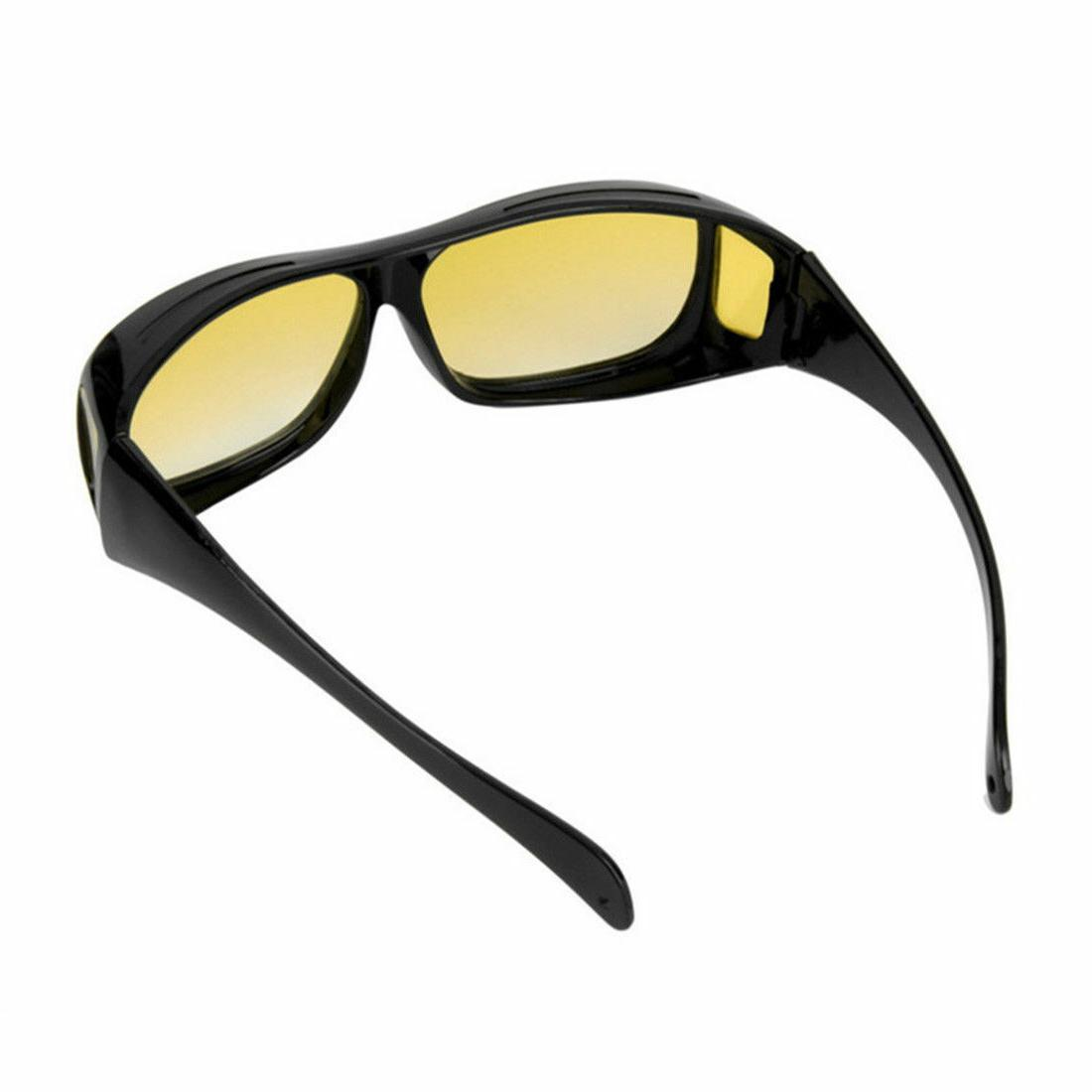 2 Day Night Wraparound Fits OVER Glasses Seen TV