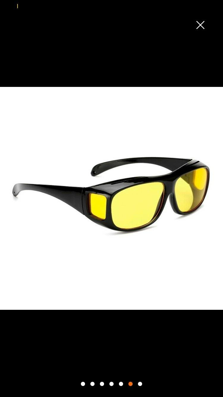 2 SET Day Vision Sunglasses Fits OVER