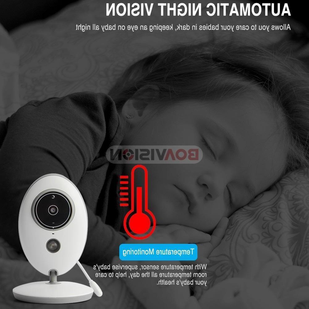 2-Way Talk Wireless Monitor Video Camera