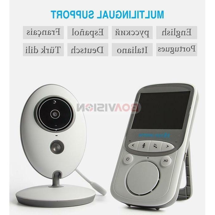 2-Way Talk Wireless Monitor Night Vision Video Camera sensor