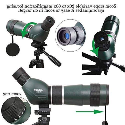 Aliynet Scope Telescope WiFi Connect Night Vision Big Adapter for Outdoor