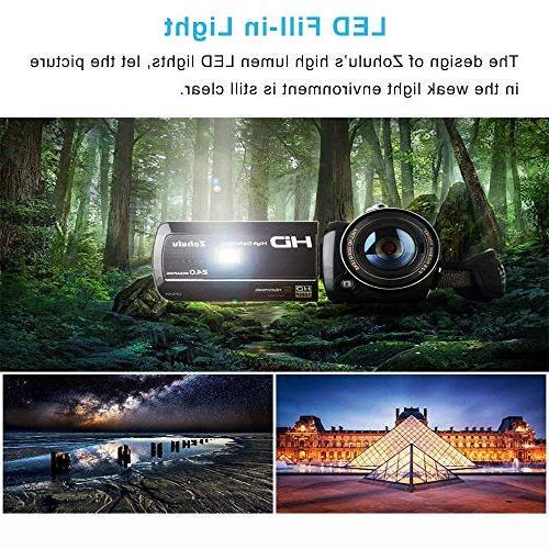 2018 Wifi Spectrum Camcorder, Full 30FPS Night Paranormal Investigation Video 18X Digital Zoom Hunting Camera
