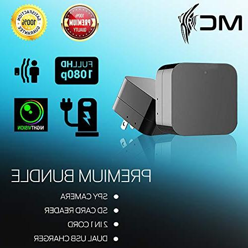 2018 Model: Wall Vision-1080P HD Resolution, USB Security Supports 128GB SD - Detection, Wi-Fi Free No