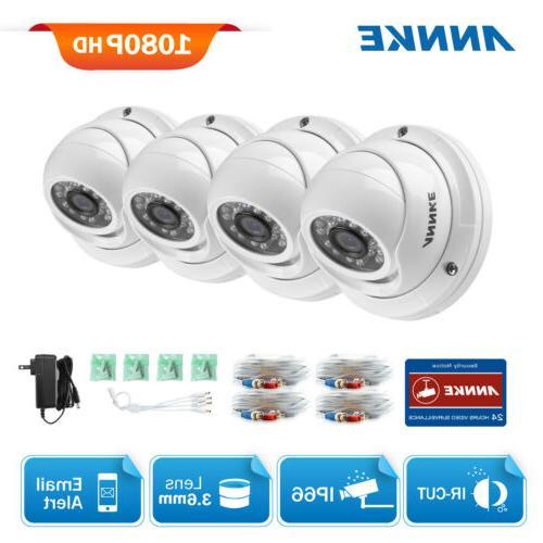 ANNKE 2.0MP TVI Waterproof IR Night Vision Smart Home Outdoo