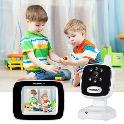 "3.5"" LCD Baby Monitor Video Vision Security"