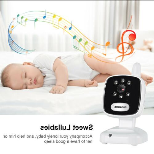 """3.5"""" LCD Baby Video Night Security Camera Webcam Monitoring"""