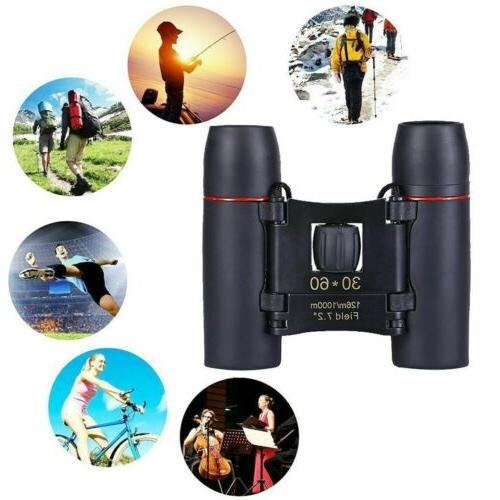 30 x Day Vision Travel Binoculars Optics + Bag