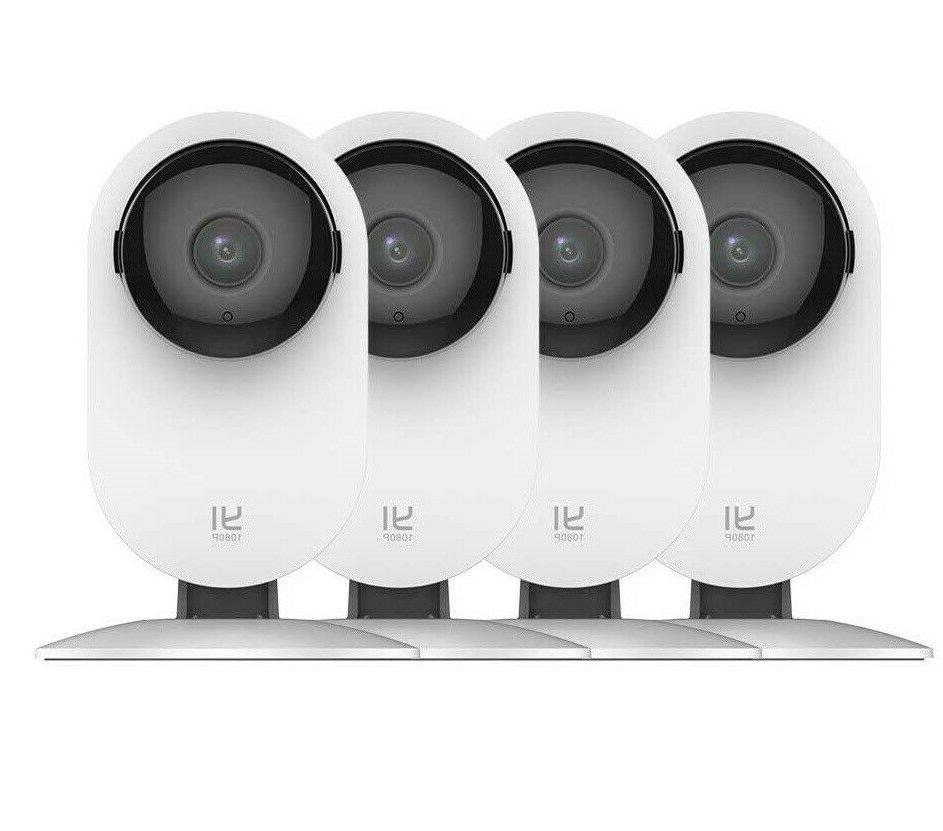 4 home camera wireless security surveillance night