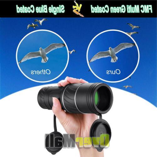 40X60 Binoculars Vision Prism Power Waterproof