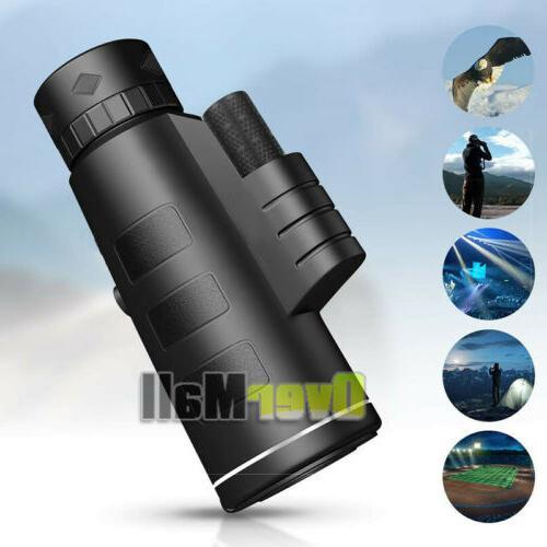 Day/Night Vision 40x60 High Power Telescope Waterproof+Case